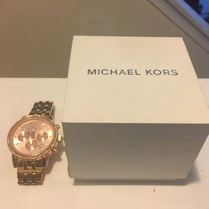 Michael Kors Rose Gold Watch 🌟